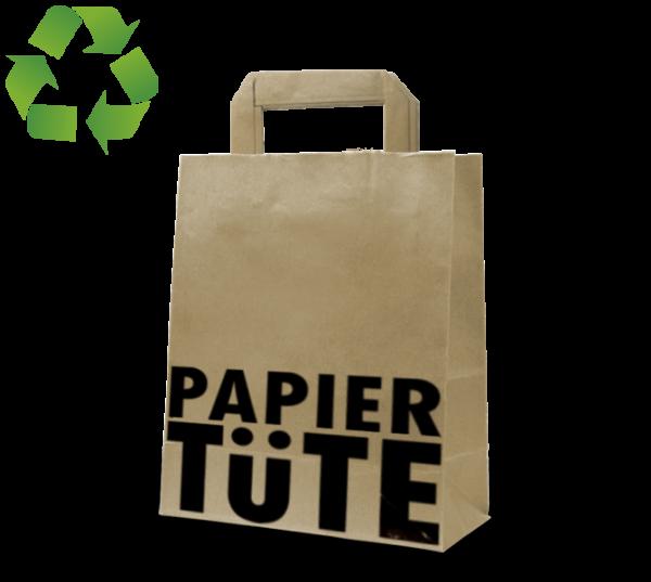 """Papier-Tasche """"Papier-Tüte"""" aus Recyclingpapier"""