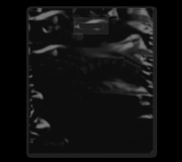 """DKT-Tasche """"Strong"""" in schwarz 38 x 45 cm"""