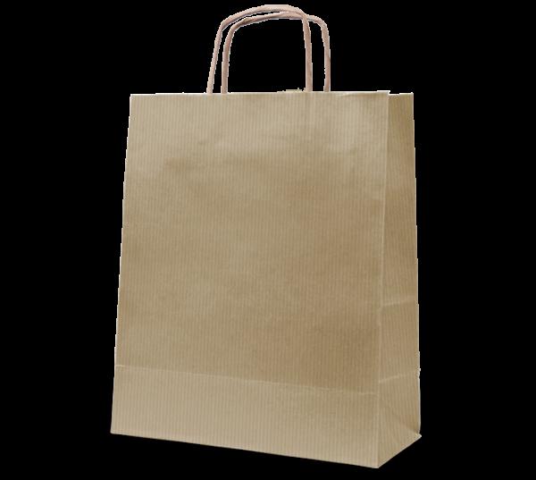 """Papierkordel-Tasche """"Uni"""" 32 x 41 cm"""