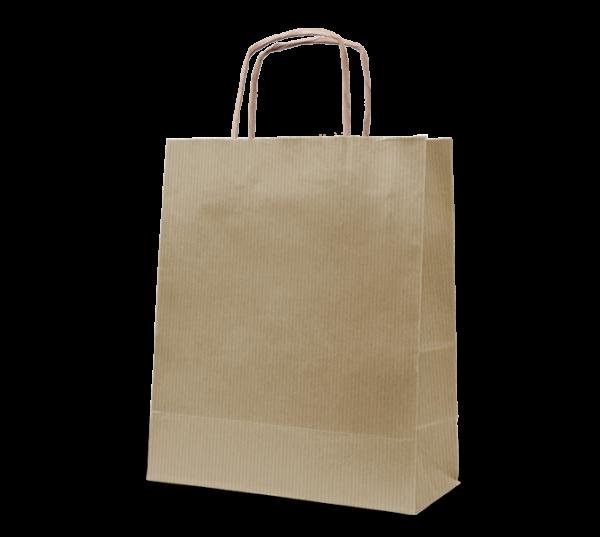 """Papierkordel-Tasche """"Uni"""" 22 x 31 cm"""