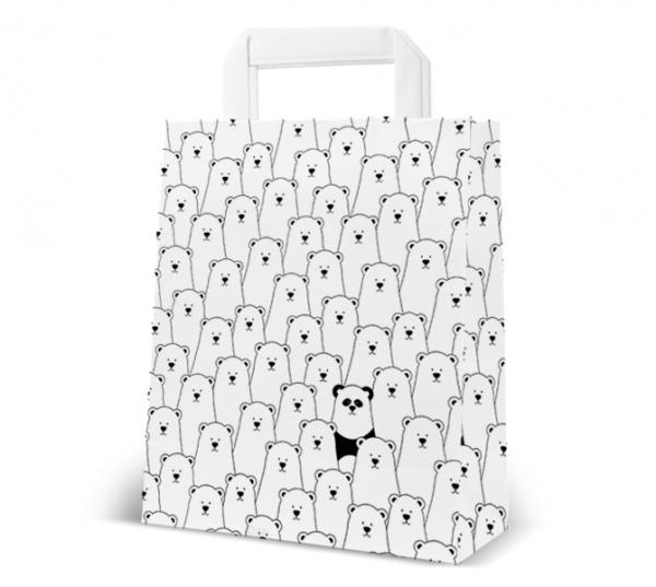 """Papier-Tasche """"Bären"""""""