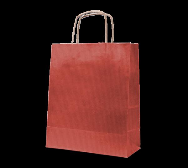 """Papierkordel-Tasche """"Rustik"""" 18 x 22 cm"""