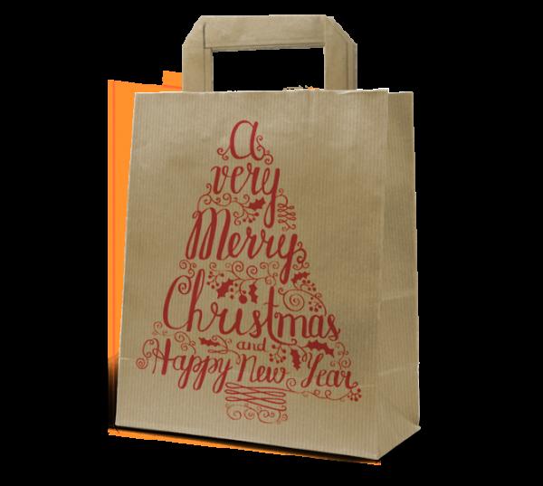 """Papier-Tasche """"Christmas"""""""