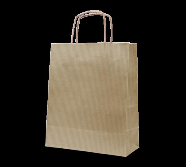 """Papierkordel-Tasche """"Uni"""" 18 x 22 cm"""