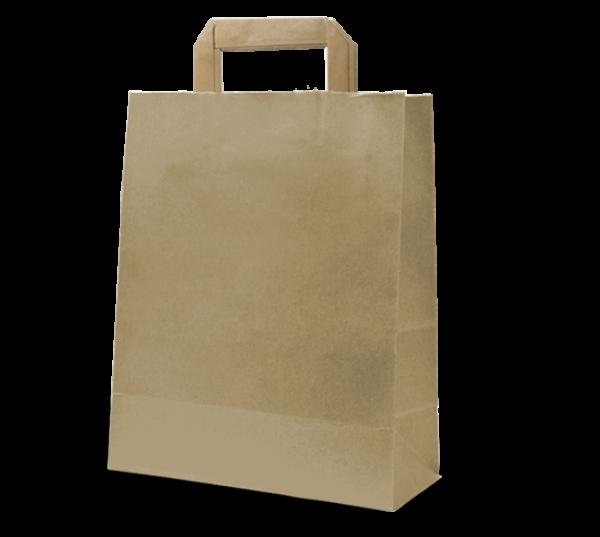 "Papier-Tasche ""Uni"" 26 x 35 cm"