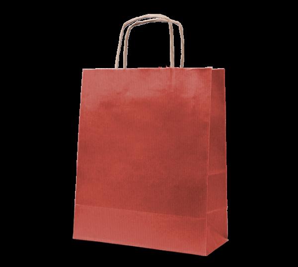 """Papierkordel-Tasche """"Rustik"""" 22 x 31 cm"""