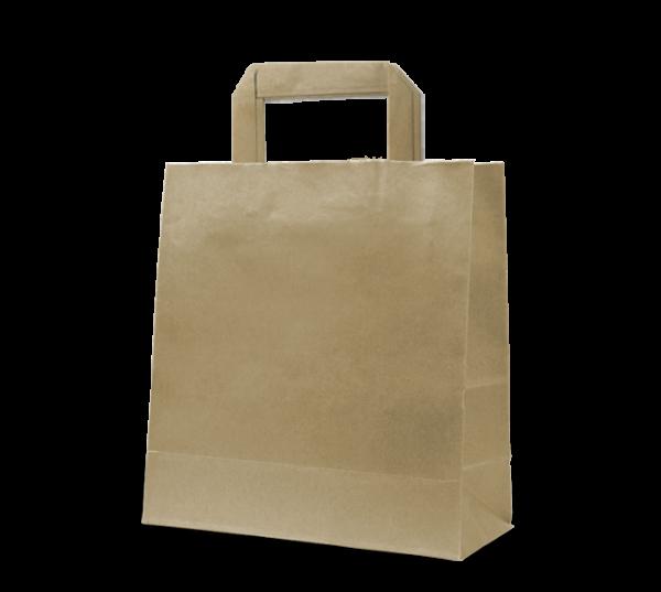 "Papier-Tasche ""Uni"" 22 x 28 cm"