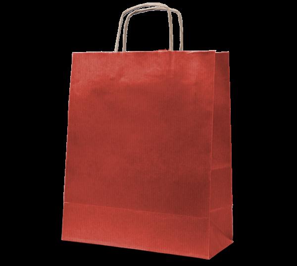 """Papierkordel-Tasche """"Rustik"""" 32 x 41 cm"""